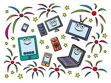 Free Gadget Celebration Stock Photography - 26939762