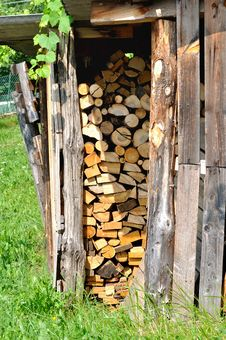 Free Firewood Royalty Free Stock Images - 26942149