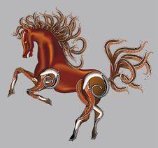Horse Fantasy Royalty Free Stock Image