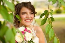 Free Young Beautiful Bride Royalty Free Stock Image - 26943006
