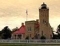 Free Lighthouse At Sunrise Royalty Free Stock Photography - 26957207