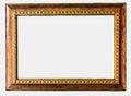 Free Vintage Photo Frame Isolated On White Background Royalty Free Stock Photos - 26958498