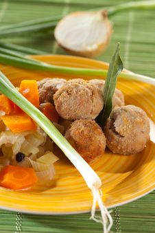 Free Minced Cutlets Marinated Stock Photos - 26950473