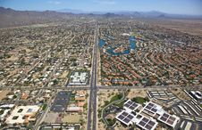 Scottsdale Rooftops Royalty Free Stock Photo