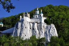 Free Temple On A Chalky Mountain Stock Photo - 26953360