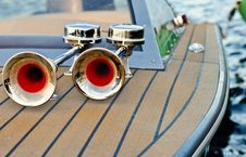 Free Boat Horn Stock Images - 26956014