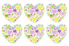 Free Colorful Hearts Stock Photos - 26956953