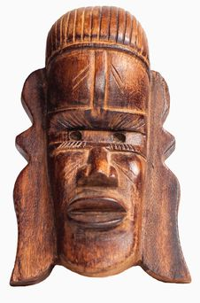 Free African Mask Stock Photo - 26957920