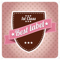 Free Vintage Label Stock Photography - 26962412
