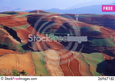 Free Red Land Stock Photography - 26967182