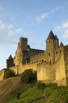 Free Carcassonne In Golden Sunlight Royalty Free Stock Photography - 26963097