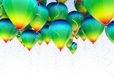 Free Balloons Background Stock Images - 26964624