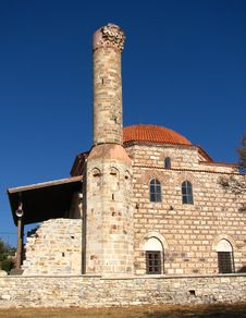 Free Old Mosque In Urla Near Izmir Royalty Free Stock Photos - 26964818