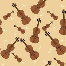 Free Violin Texture Royalty Free Stock Photo - 26966235