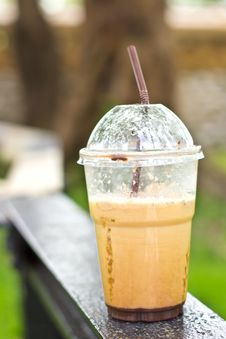Free A Cup Of Ice Coffee Royalty Free Stock Photo - 26966345