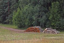 Free Woodstacks Stock Image - 26967811