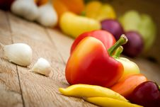 Free Peppers Royalty Free Stock Images - 26969369