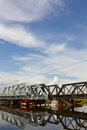 Free Repair Added A New Railway Bridge. Stock Photos - 26976723
