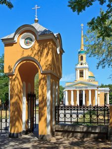 Spaso-Preobrazenskiy Cathedral &x28;Dnipropetrovsk&x29; Stock Photography