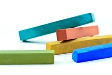 Pastel Sticks Royalty Free Stock Photography