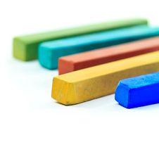 Pastel Sticks Stock Image