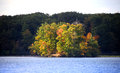 Free Small Island In The Lake Royalty Free Stock Photography - 26980707