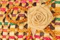 Free Wicker Flower Royalty Free Stock Photo - 26981445