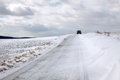 Free Snow Covered Road Royalty Free Stock Photography - 26986457