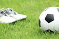 Free Football And Soccer Shoes Stock Image - 26986591