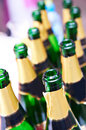 Free Many Empty Bottles Of Champagne Royalty Free Stock Photography - 26988167