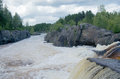 Free Voitsky Padun Waterfall, Karelia Region, Russia Stock Image - 26989981