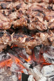 Barbecues Stock Image