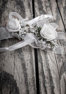 Wedding Accessories Stock Photography
