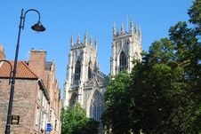 Free York Minster Royalty Free Stock Image - 26982426