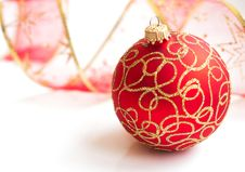 Free Christmas Bauble Royalty Free Stock Images - 26982599