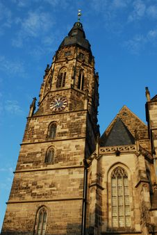 Free Church Spire Stock Photography - 26983012