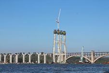 Free Construction Of A New Bridge Stock Photos - 26983203