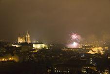 Free Fireworks In Prague Stock Image - 26983671