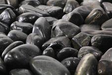 Free Black Stones Royalty Free Stock Image - 26989706