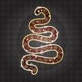 Free Snaketreeornament Stock Photos - 26993323