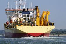 Free A Cargo Ship Stock Photography - 26990012