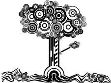 Free A Tree With Many Circles Stock Image - 26991801