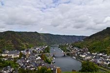 Free Mosel View Royalty Free Stock Photo - 26992265