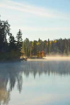 Free Autumn Lake Royalty Free Stock Image - 26997586