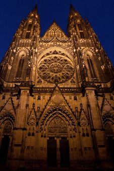 Free St. Vitus Cathedral Royalty Free Stock Photos - 26999218