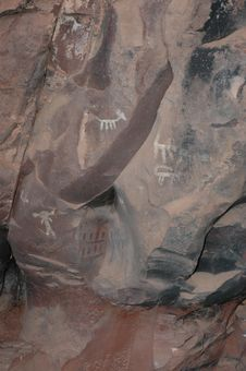 Free Sinugua Indian Cave Art Royalty Free Stock Photo - 271415