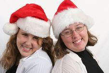 Free Santa Sisters 2 Stock Image - 271851