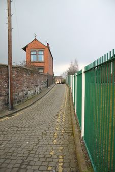Free Cobbled Lane Stock Photography - 271952