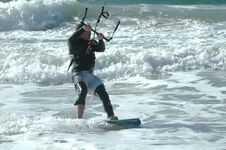 Free Kite Surfer 1 Stock Photo - 272550