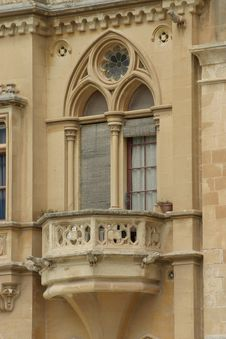 Free Feudal Age Balcony Stock Image - 272751